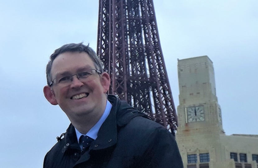 Paul Maynard MP wants to see the creation of a tourism enterprise zone to boost Blackpool