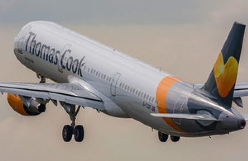 Thomas Cook passengers are being flown home following the company's collapse